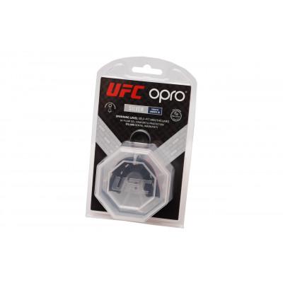 Капа OPRO Junior Silver UFC Hologram Red/Black (01610) фото 5