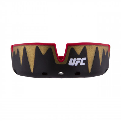 Капа OPRO Platinum UFC Hologram Fangz-Black M/Red (01753) фото 2