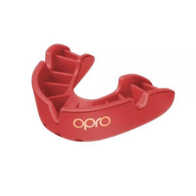 Боксерська капа OPRO Bronze Red (01794) фото 3