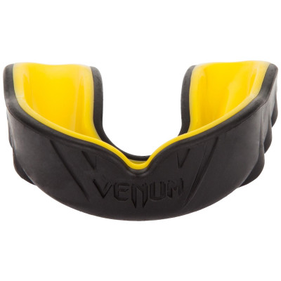 Капа Venum Challenger Mouthguard Black/Yellow (01700)