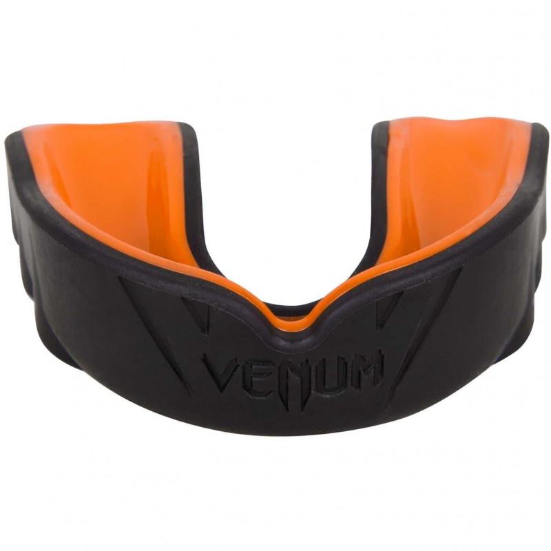 Капа Venum Challenger Mouthguard Black/Orange (01856) фото 1