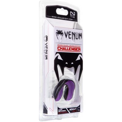 Капа Venum Challenger Mouthguard Black/Purple (01862) фото 6