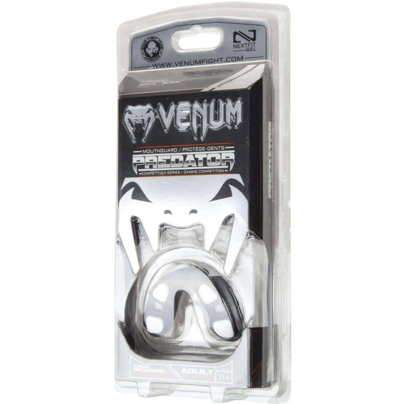 Капа Venum Predator Mouthguard Чорна/Білий (01851) фото 7