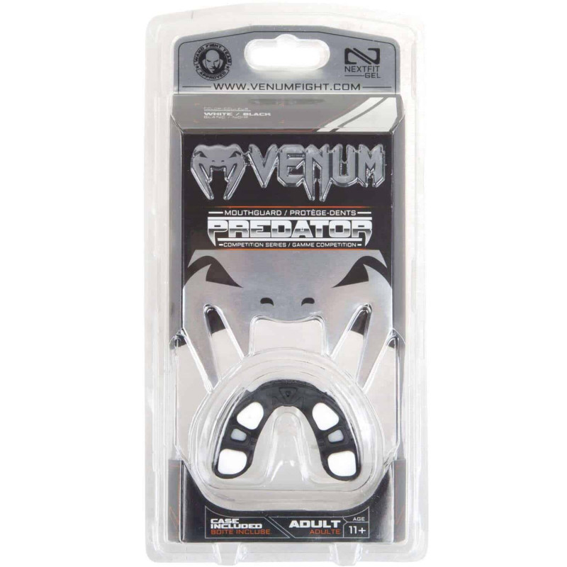 Капа Venum Predator Mouthguard Чорна/Білий (01851) фото 8