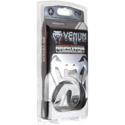 Капа Venum Predator Mouthguard Grey/Black (01855) фото 5