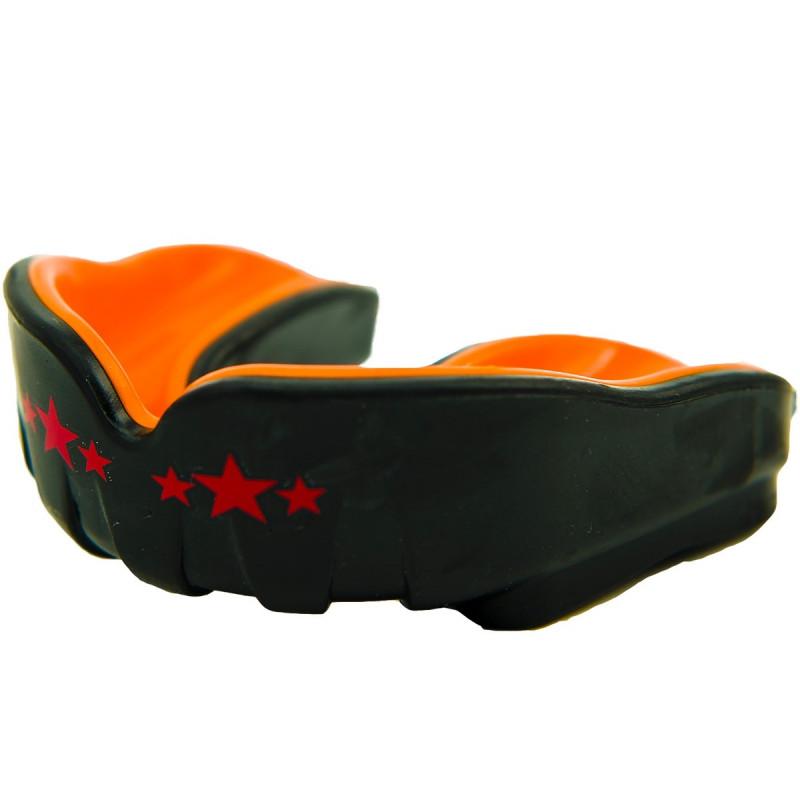 Капа YOKKAO Mouth guard Black/Orange (01527) фото 1