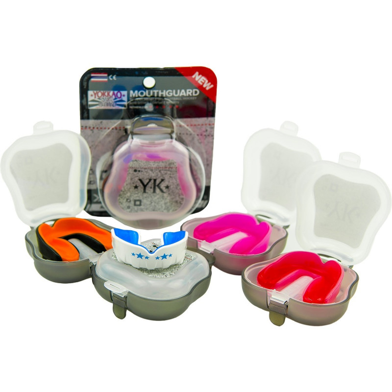 Капа YOKKAO Mouth guard Clear Red (01529) фото 3