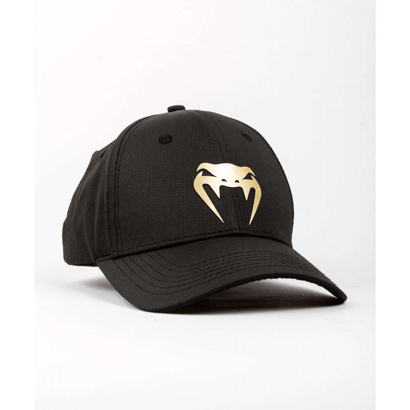 Бейсболка Venum Club 182 Hat Black/Gold (01989) фото 1