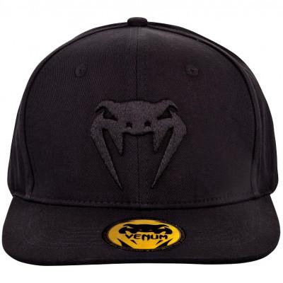 Бейсболка Venum Classic Snapback Black/Black (01542) фото 1