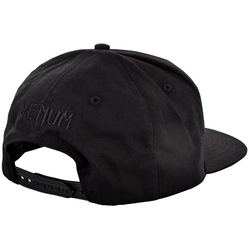 Бейсболка Venum Classic Snapback Black/Black (01542) фото 2