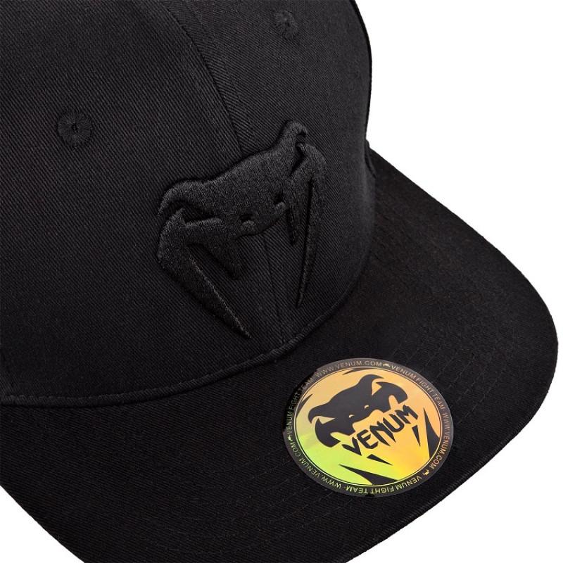Бейсболка Venum Classic Snapback Black/Black (01542) фото 3