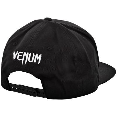Бейсболка Venum Classic Snapback чорна/біла (01541) фото 2