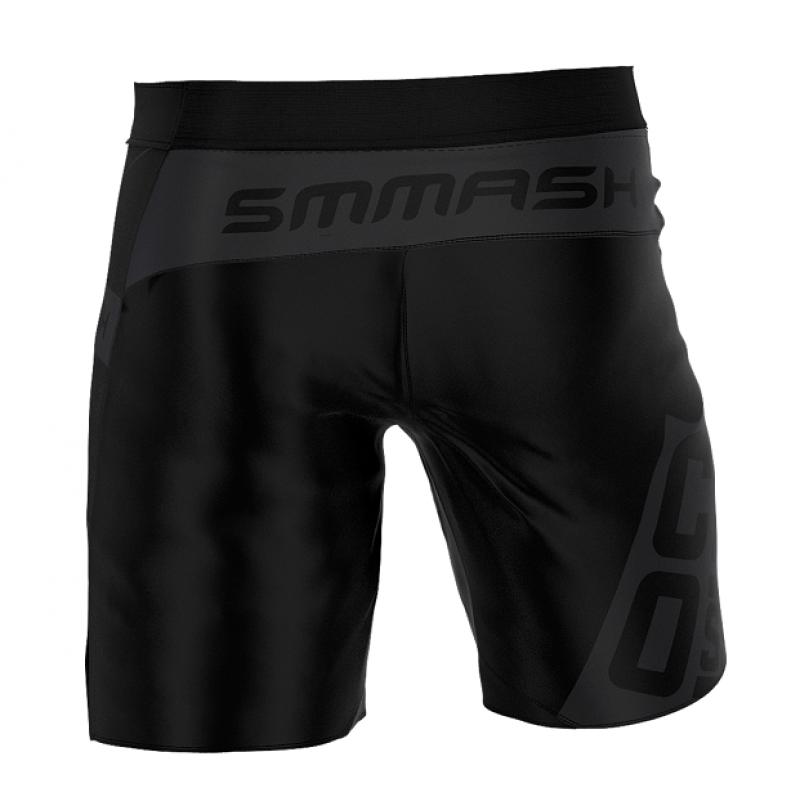 Шорты SMMASH FIT SHORTS MAN DEXTER BLACK (01403) фото 2