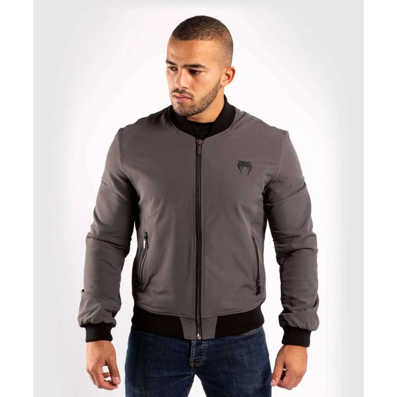 Куртка Venum Trooper Bomber Grey/Black (02035) фото 1
