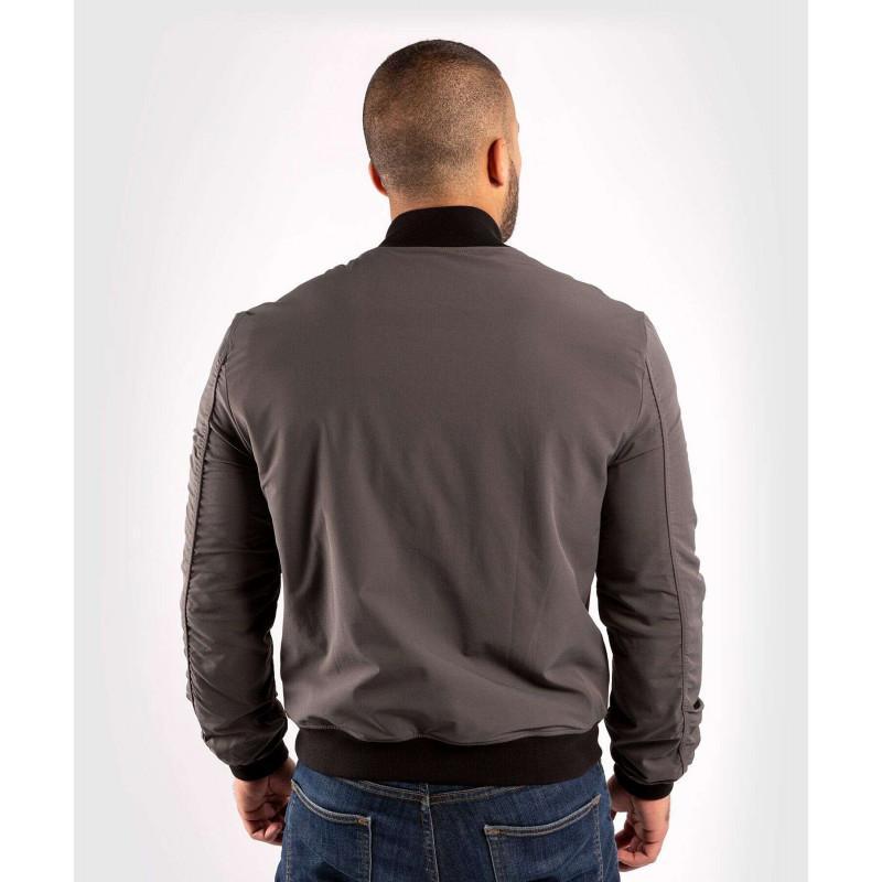 Куртка Venum Trooper Bomber Grey/Black (02035) фото 2