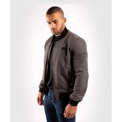 Куртка Venum Trooper Bomber Grey/Black (02035) фото 3