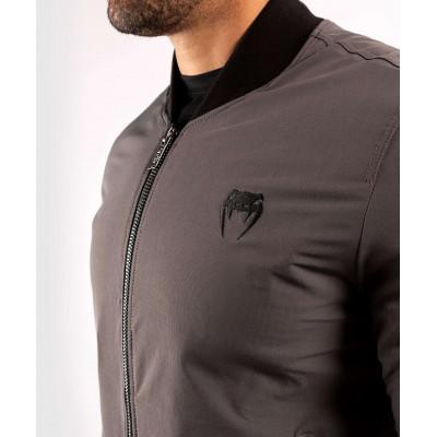 Куртка Venum Trooper Bomber Grey/Black (02035) фото 4
