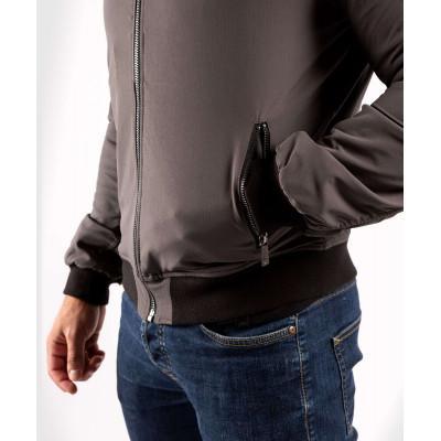 Куртка Venum Trooper Bomber Grey/Black (02035) фото 5