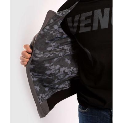 Куртка Venum Trooper Bomber Grey/Black (02035) фото 6