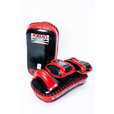 Пады YOKKAO Curved Muay Thai kicking pads (01651) фото 2