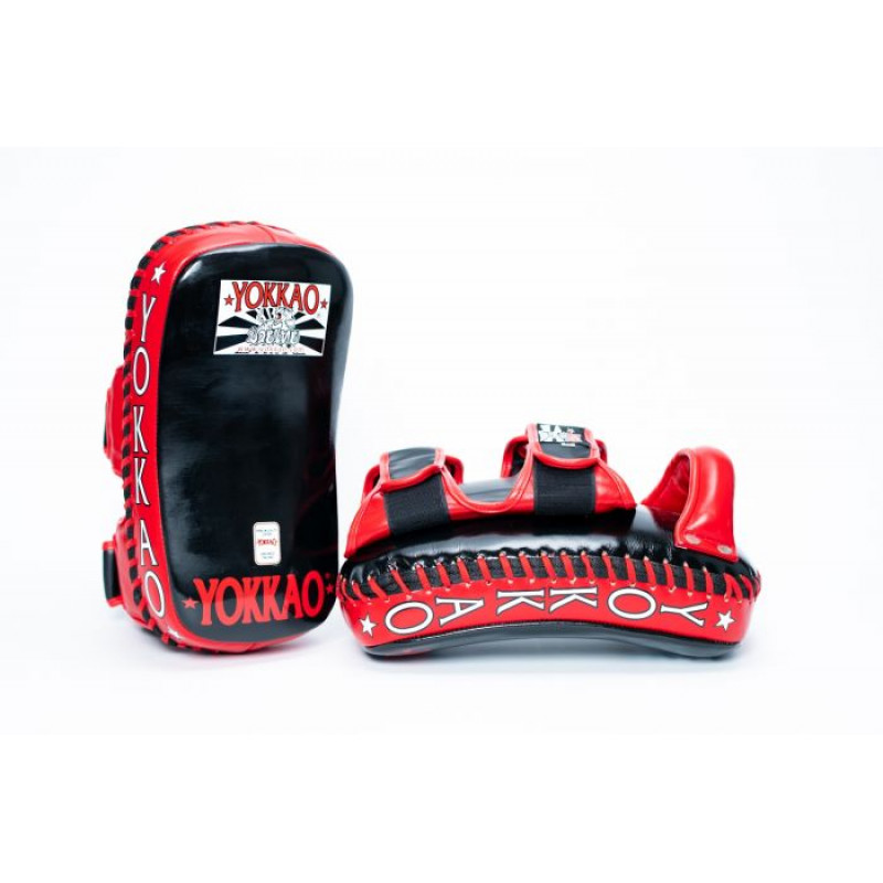 Пады YOKKAO Curved Muay Thai kicking pads (01651) фото 3