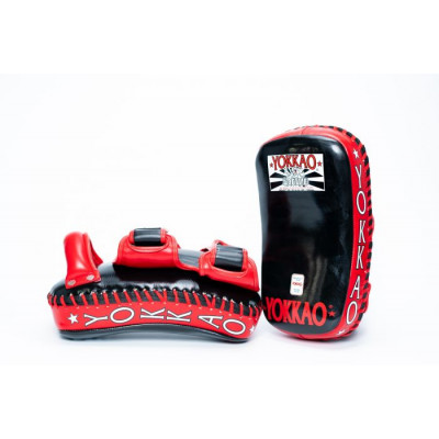 Пады YOKKAO Curved Muay Thai kicking pads (01651) фото 4