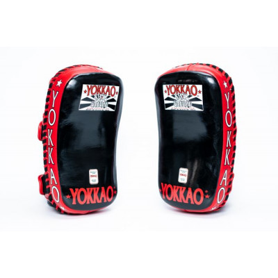 Пады YOKKAO Curved Muay Thai kicking pads (01651) фото 5
