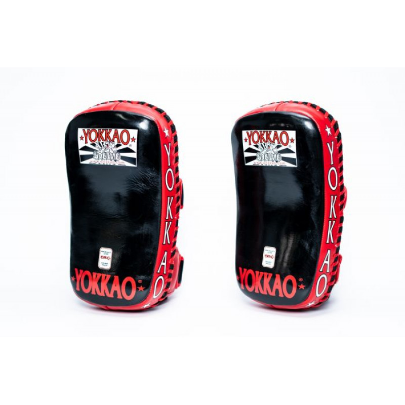 Пады YOKKAO Curved Muay Thai kicking pads (01651) фото 6