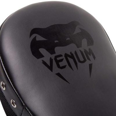 Лапы Venum Elite Big Focus Mitts Black/Black (02009) фото 5
