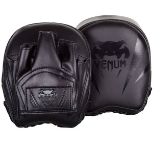 Лапы Venum Elite Mini Focus Mitts Black/Black