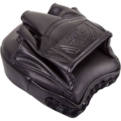 Лапы Venum Elite Mini Focus Mitts Black/Black (02008) фото 2