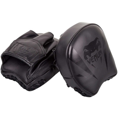 Лапы Venum Elite Mini Focus Mitts Black/Black (02008) фото 6