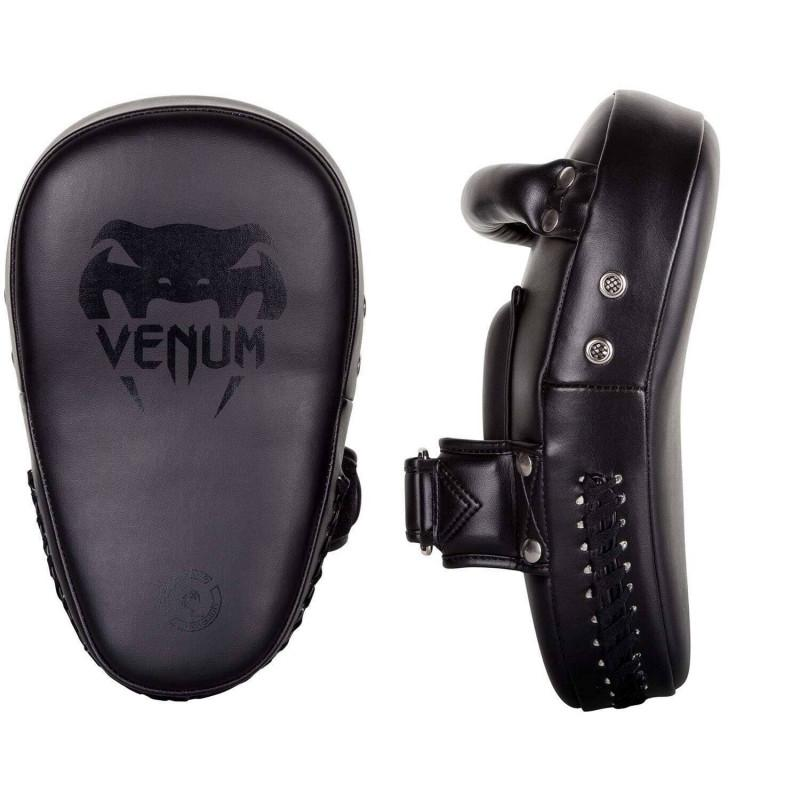 Пады Venum Elite Small Kick Pads Black (02099) фото 1
