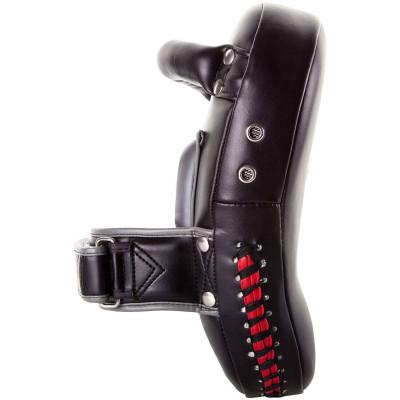 Пады Venum Elite Small Kick Pads Black/Red (02017) фото 5