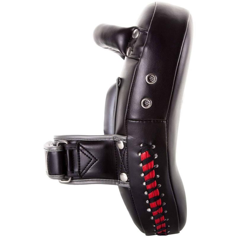 Пади Venum Elite Small Kick Pads Black/Red (02017) фото 5