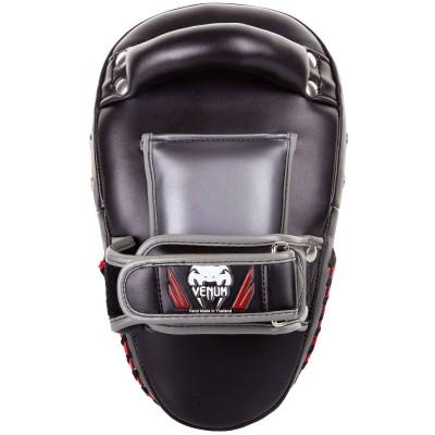 Пады Venum Elite Small Kick Pads Black/Red (02017) фото 2