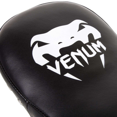 Пады Venum Elite Small Kick Pads Black/Red (02017) фото 6