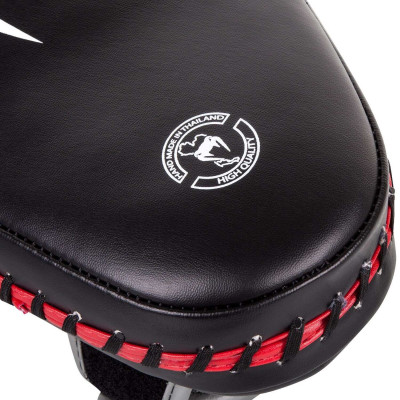 Пады Venum Elite Small Kick Pads Black/Red (02017) фото 7