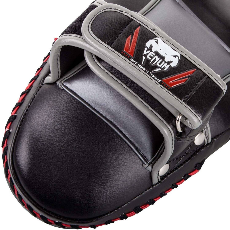 Пады Venum Elite Small Kick Pads Black/Red (02017) фото 8