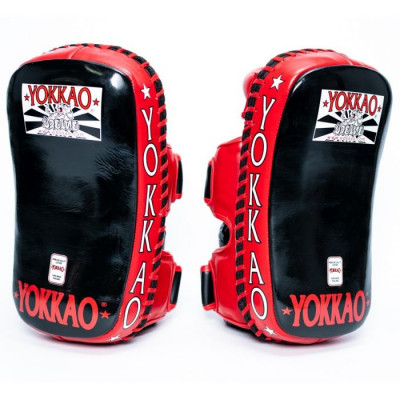 Пады YOKKAO Curved Muay Thai kicking pads (01651) фото 1