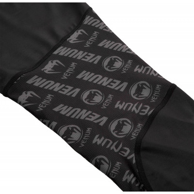 Легінси Venum Logos Tights Black/Neo Yellow (01727) фото 7