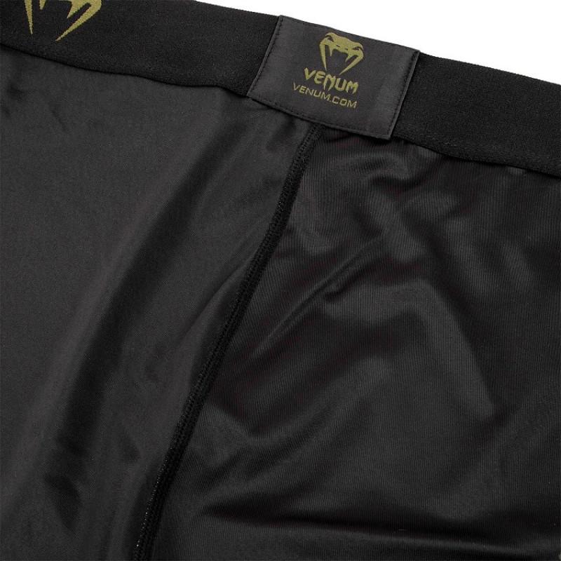 Легінси Venum Signature Spats Black/Khaki (01742) фото 6