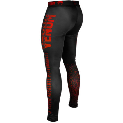 Леггинсы Venum Signature Spats Black/Red (01743) фото 4