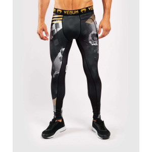 Компресійні штани Venum Skull Tights Black