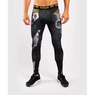 Компрессионные штаны Venum Skull Tights Black (01958) фото 1