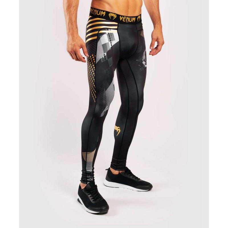 Компрессионные штаны Venum Skull Tights Black (01958) фото 3