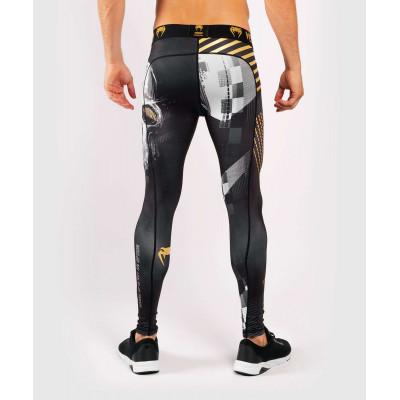 Компрессионные штаны Venum Skull Tights Black (01958) фото 4