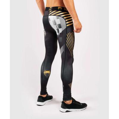 Компрессионные штаны Venum Skull Tights Black (01958) фото 5