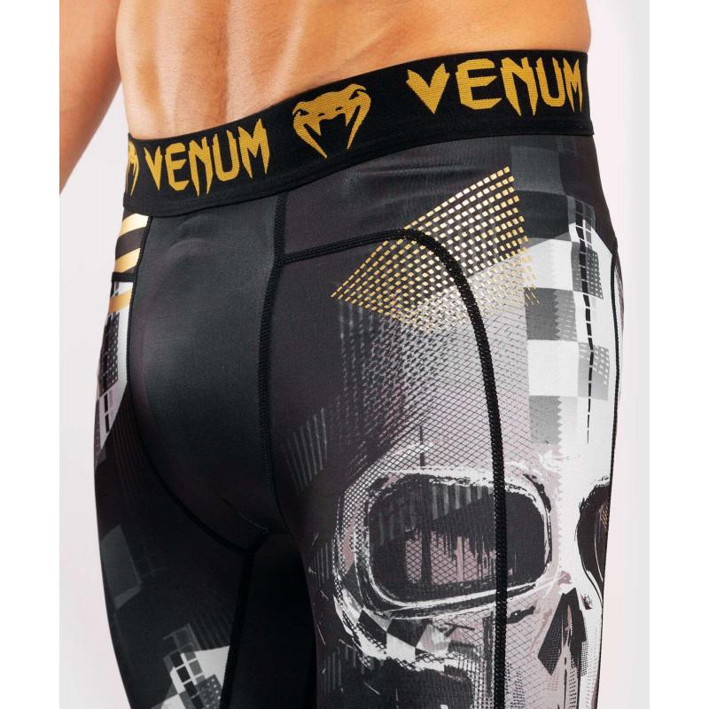 Компрессионные штаны Venum Skull Tights Black (01958) фото 6
