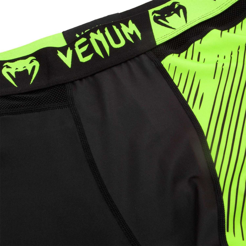 Легінси Venum Training Camp 2.0 Black/Neo Yellow (02012) фото 5